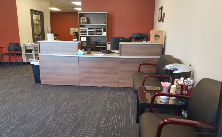 Summit Physical Therapy Glenpool OK Front Desk