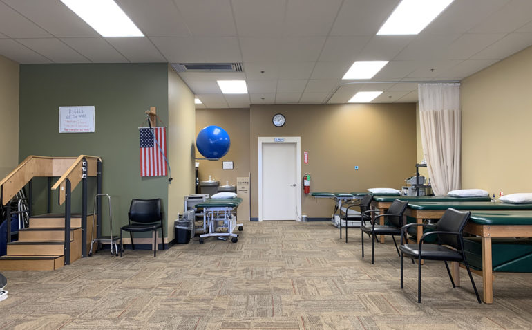 Summit Physical Therapy in Muskogee, OK Clinic Interior