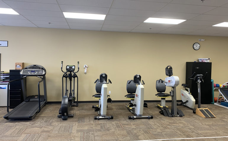 Summit Physical Therapy in Muskogee, OK Exercise Equipment